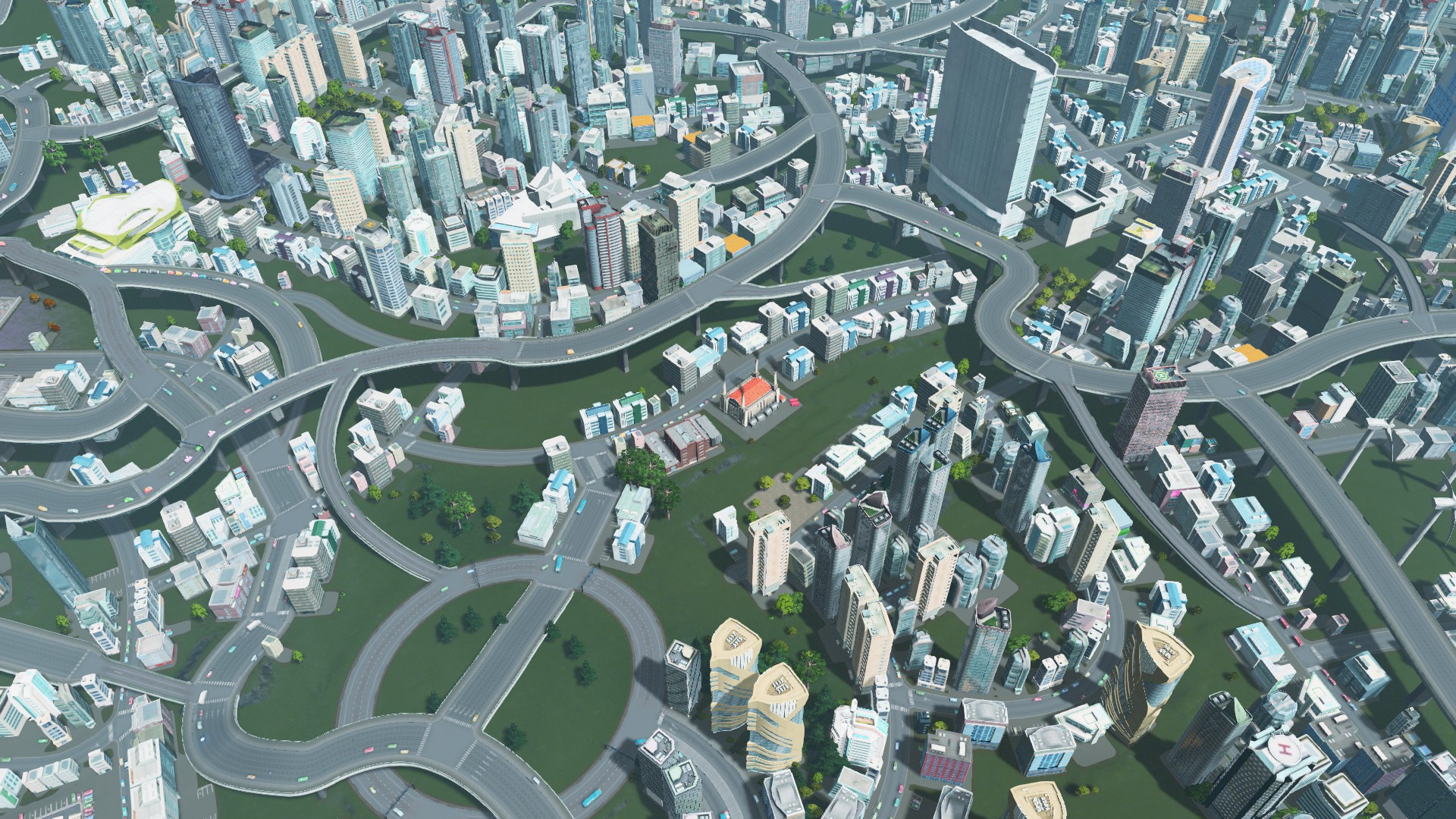 SimCity 3000 Coal Power Plant - Cities: Skylines Mod download