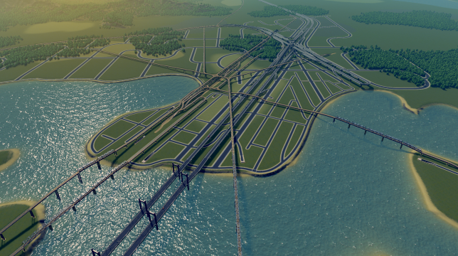 City Layout Roads Only Cities Skylines Mod Download