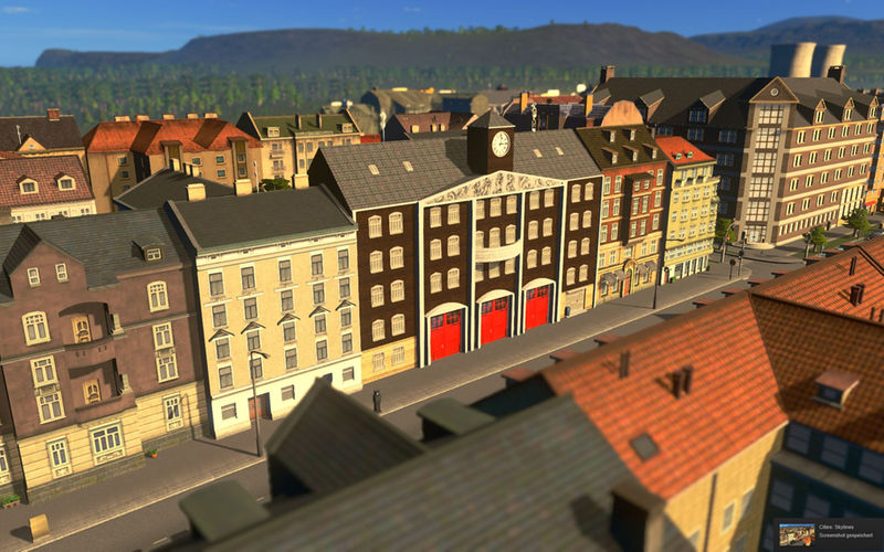 European Fire Station - Cities: Skylines Mod download