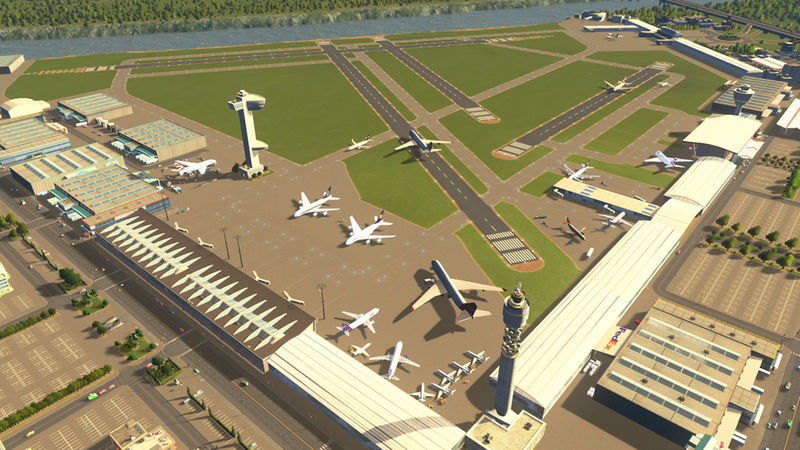 International Airport City Cities Skylines Mod Download