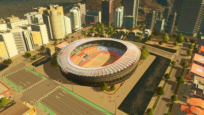 Jamsil Olympic Main Stadium - Cities: Skylines Mod download