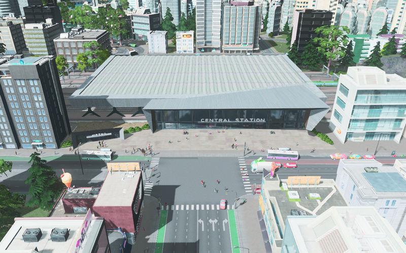 Modular Through Station | Modern Central | BadPeanut