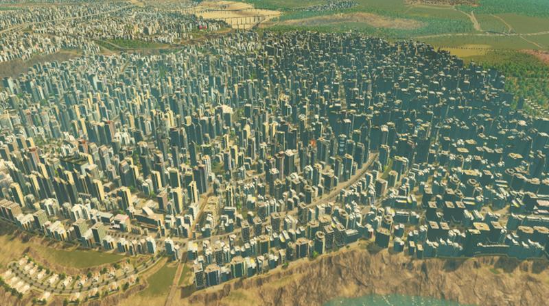 Rockvalley Big City Cities Skylines Mod Download