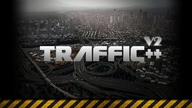Traffic++ V2 - Cities: Skylines Mod download