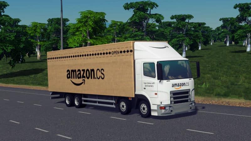 Amazon Truck - Cities: Skylines Mod download