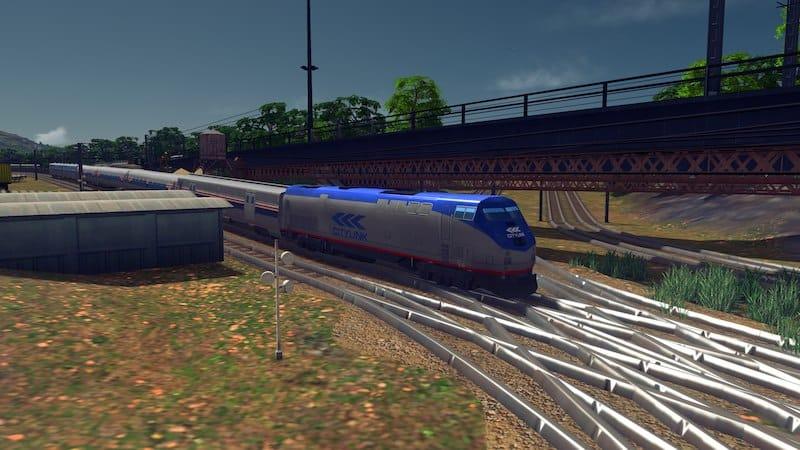 American Medium Distance Passenger Train - Cities: Skylines