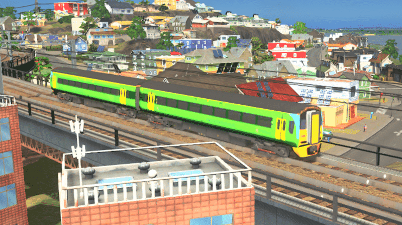 Class 158 (Central Trains) 2 Car - Cities: Skylines Mod download