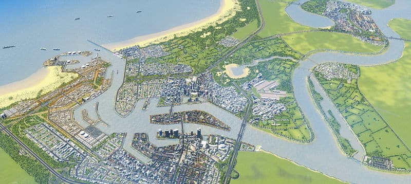 Dutch and Rotterdam Based Landscape - Cities: Skylines Mod