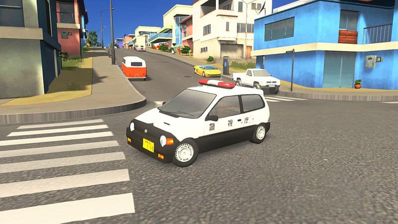 Honda Today Police Car - Cities: Skylines Mod download