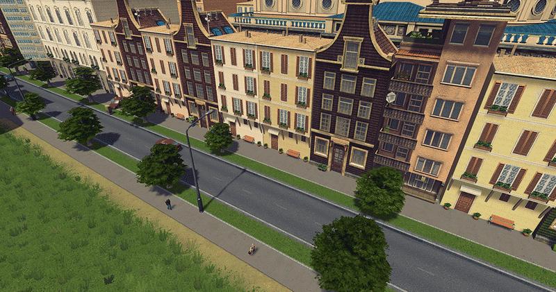 Italian Theme – Florence Blockhouse 1×1 LV5 - Cities