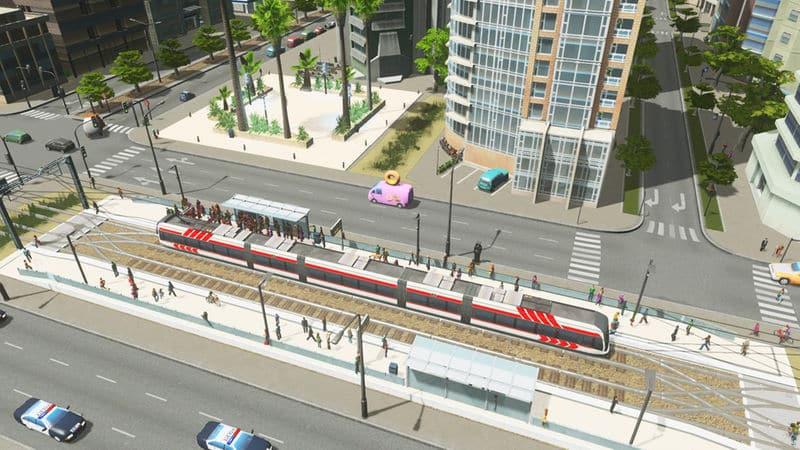 Joak's Tram (Train) Station - Cities: Skylines Mod download