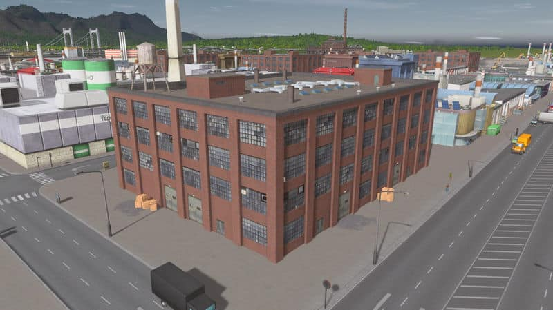 Old factory 8×6 (RICO) - Cities: Skylines Mod download