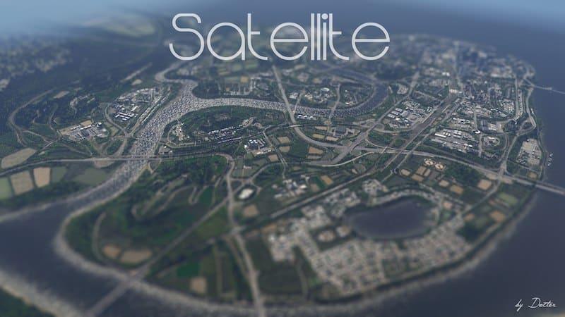 Satellite - Cities: Skylines Mod download