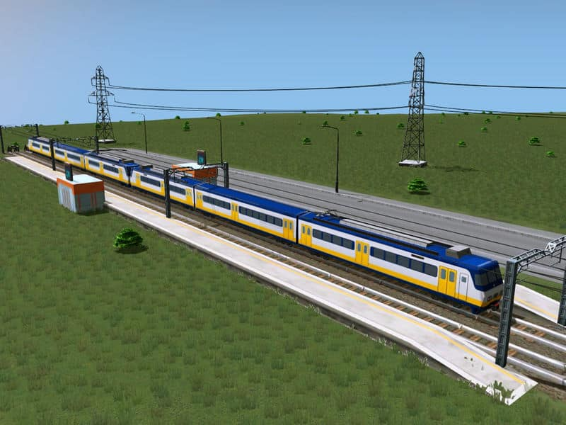 Sprinter trains coupled 3-3 - Cities: Skylines Mod download