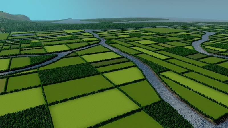 Flat Map - Cities: Skylines Mod download