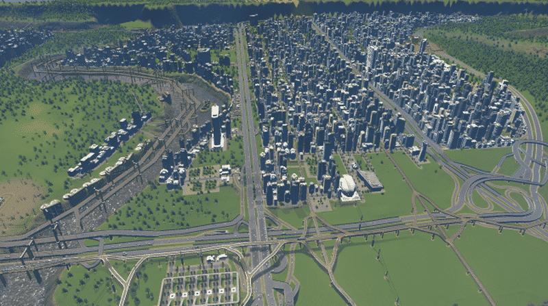 Huge City Cities Skylines Mod Download