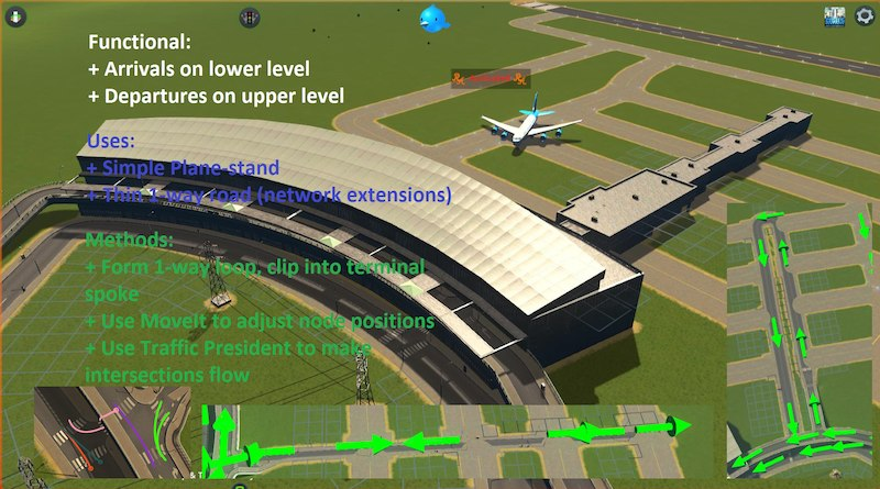 Large-Airport-Terminal-Pack-13 - Cities: Skylines Mod