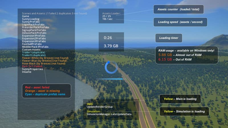 Loading Screen Mod - Cities: Skylines Mod download