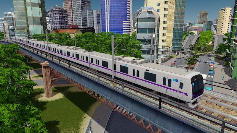 Tokyo Metro 08 series - Cities: Skylines Mod download