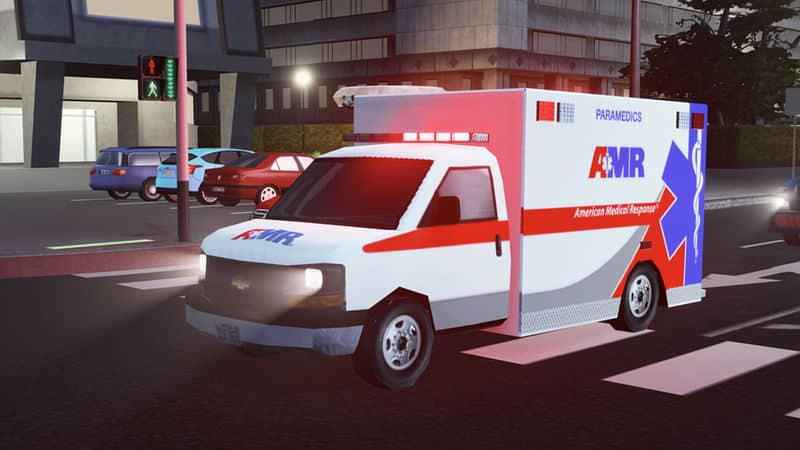 2016 Chevrolet Express Type III Ambulance - Cities: Skylines