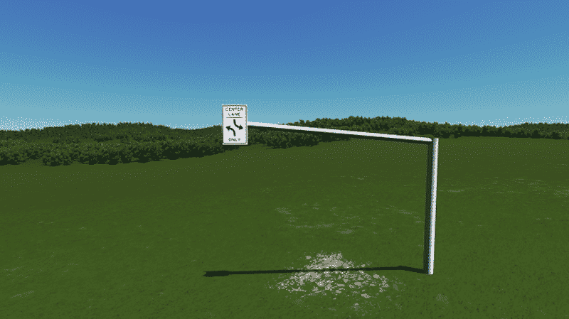American Overhead Road Signs Pack - Cities: Skylines Mod