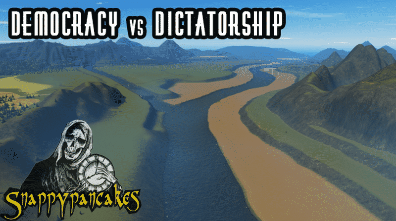 dictatorship v s democracy