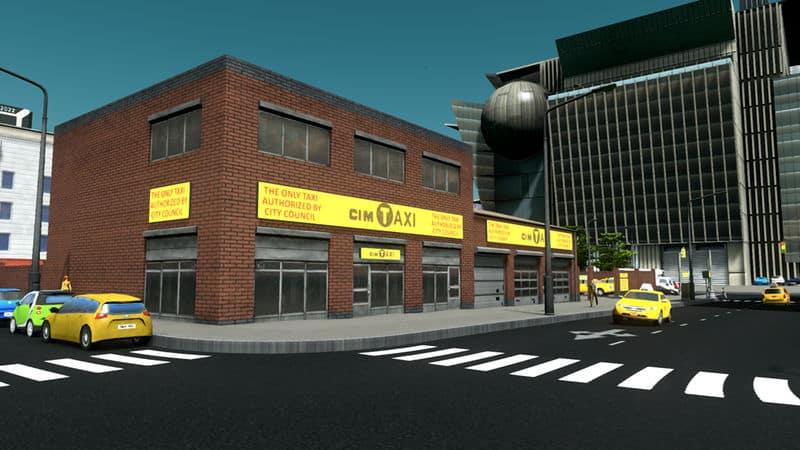 CIMTaxi Depot - Cities: Skylines Mod download