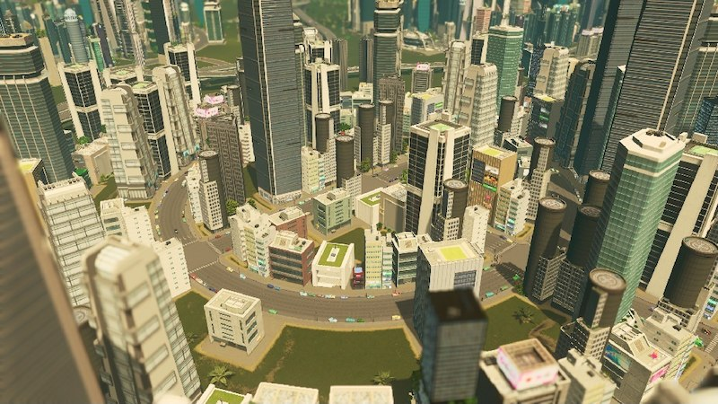 City Theme Achromic Future Cities Skylines Mod Download