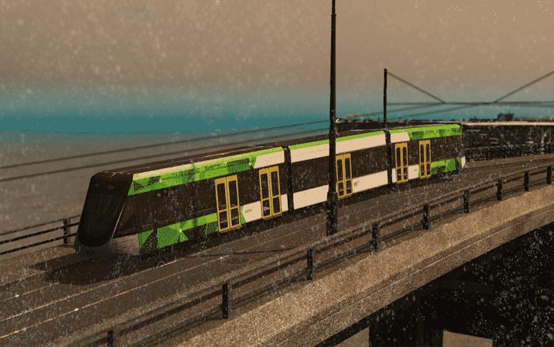 E-Class Tram Melbourne - Cities: Skylines Mod download