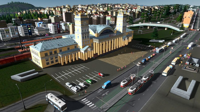 East-European Train Station - Cities: Skylines Mod download