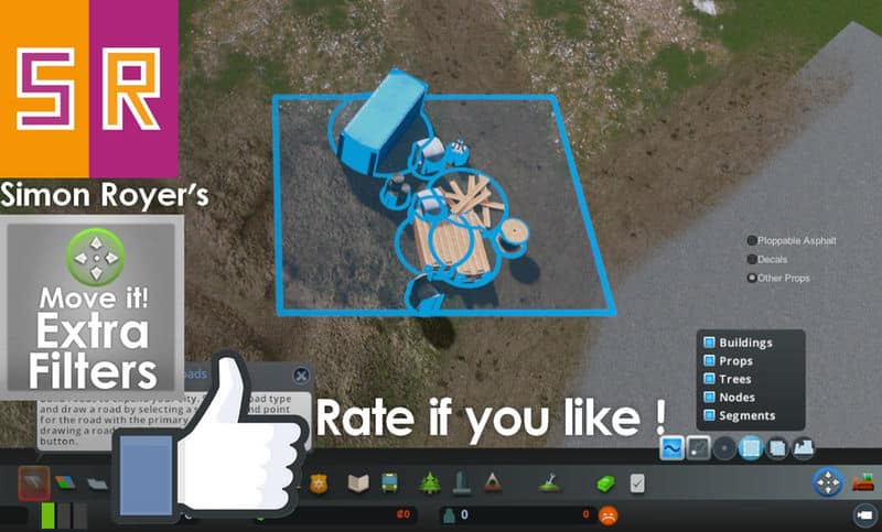 Move It! Extra Filters - Cities: Skylines Mod download
