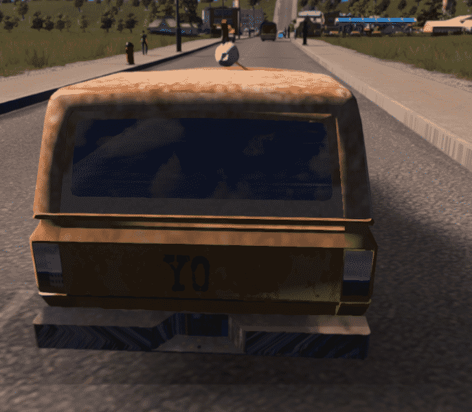 Pizza Planet Truck Cities Skylines Mod Download