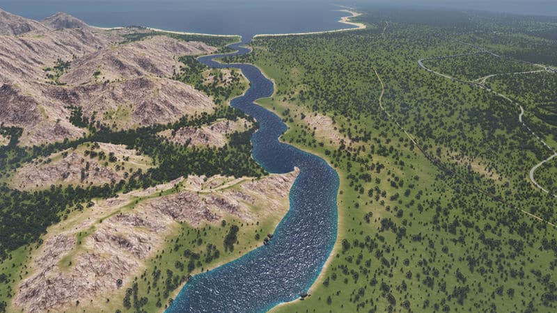 Realistic Map Theme V1 0 - Cities: Skylines Mod download