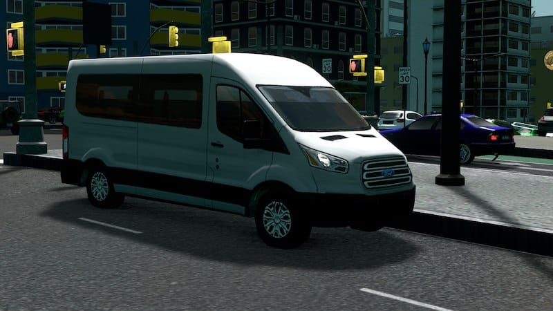 Ford Transit Passenger Van >> 2017 Ford Transit Passenger Van Cities Skylines Mod Download