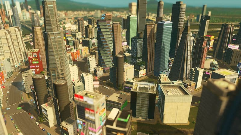 City Theme Prismatic Future Cities Skylines Mod Download