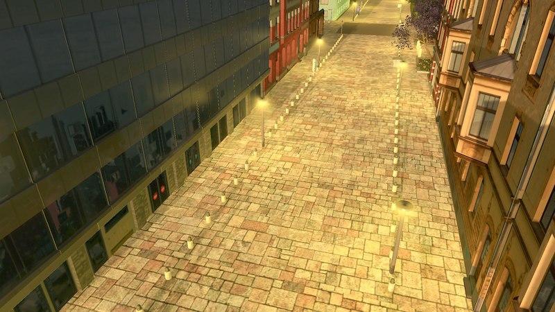 Cobblestone Street 2 - Cities: Skylines Mod download