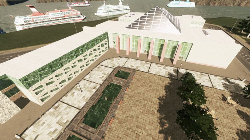 Edmonton City Hall - Cities: Skylines Mod download