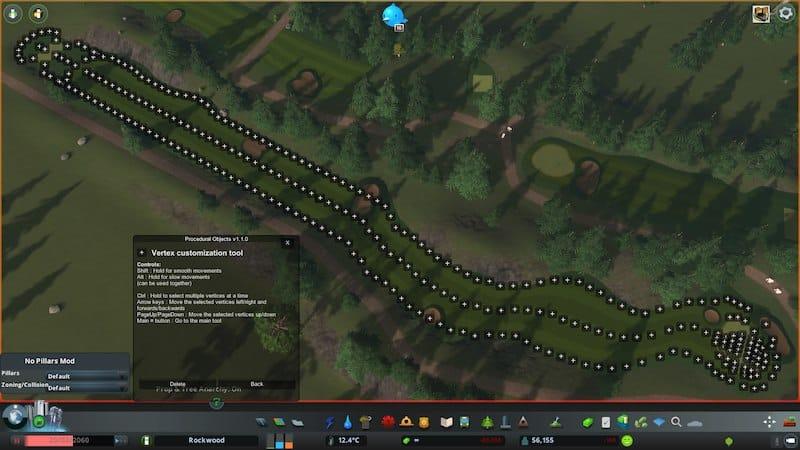 Golf Course Creator 10 assets PROCEDURAL - Cities: Skylines Mod download