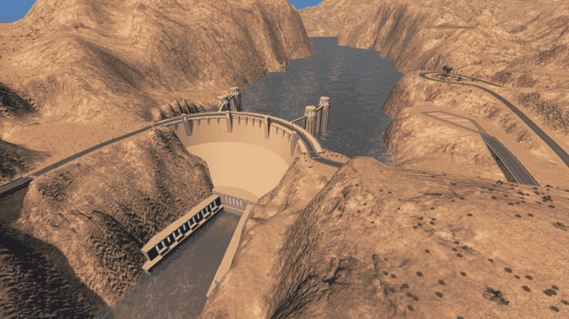 Hoover Dam - Cities: Skylines Mod download