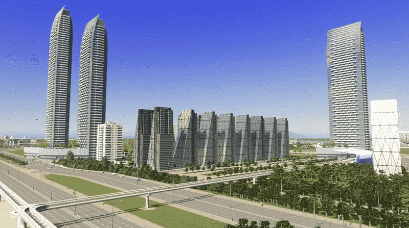 Moderno - Cities: Skylines Mod download