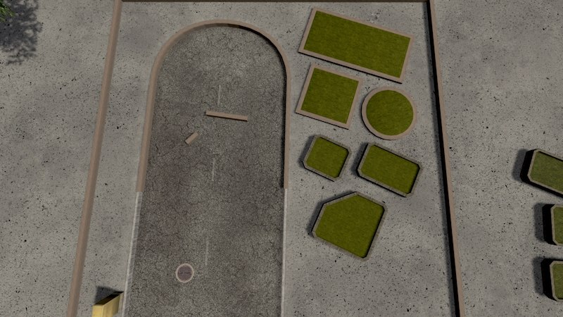 Planters & Curbs - Cities: Skylines Mod download