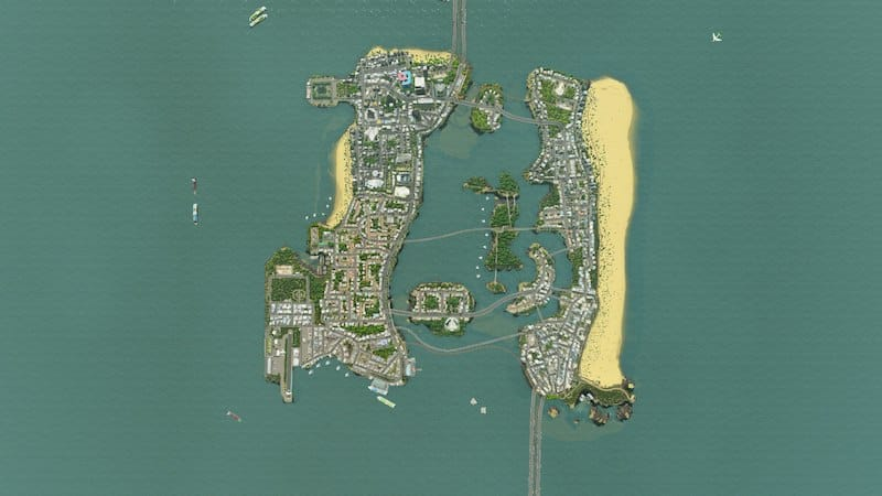 Vice City in City Skylines by Docter_Cockter - Cities